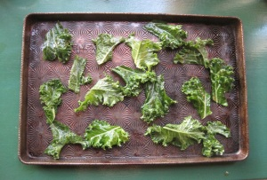Kale on table