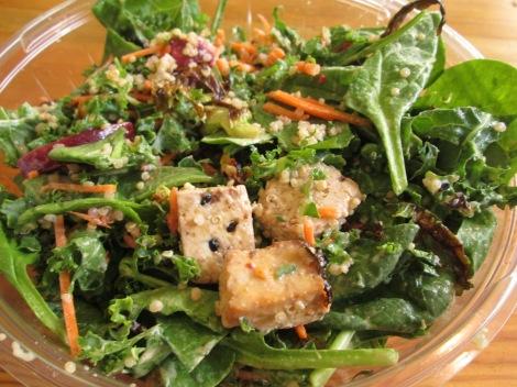 7 Green's Yoga Girl salad.