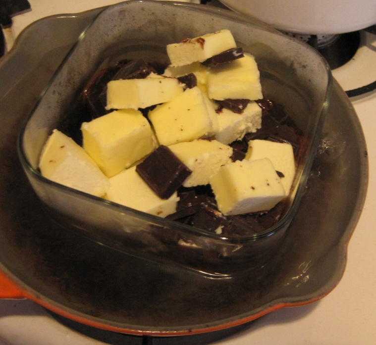 Melting chocolate without a double boiler.