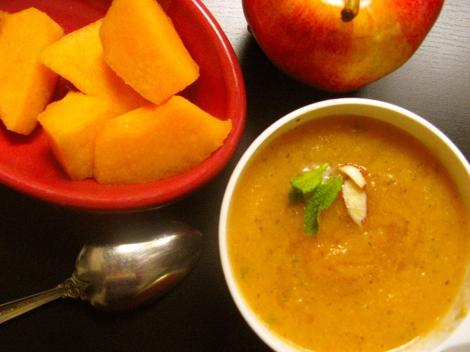 Fruit soup.
