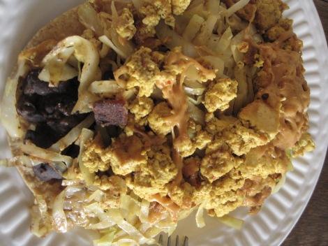 Bartertown's tofu scramble.