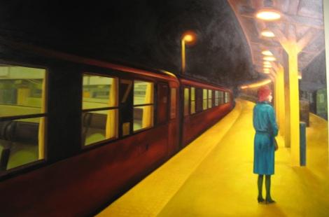 Next Train, by PD Davies.