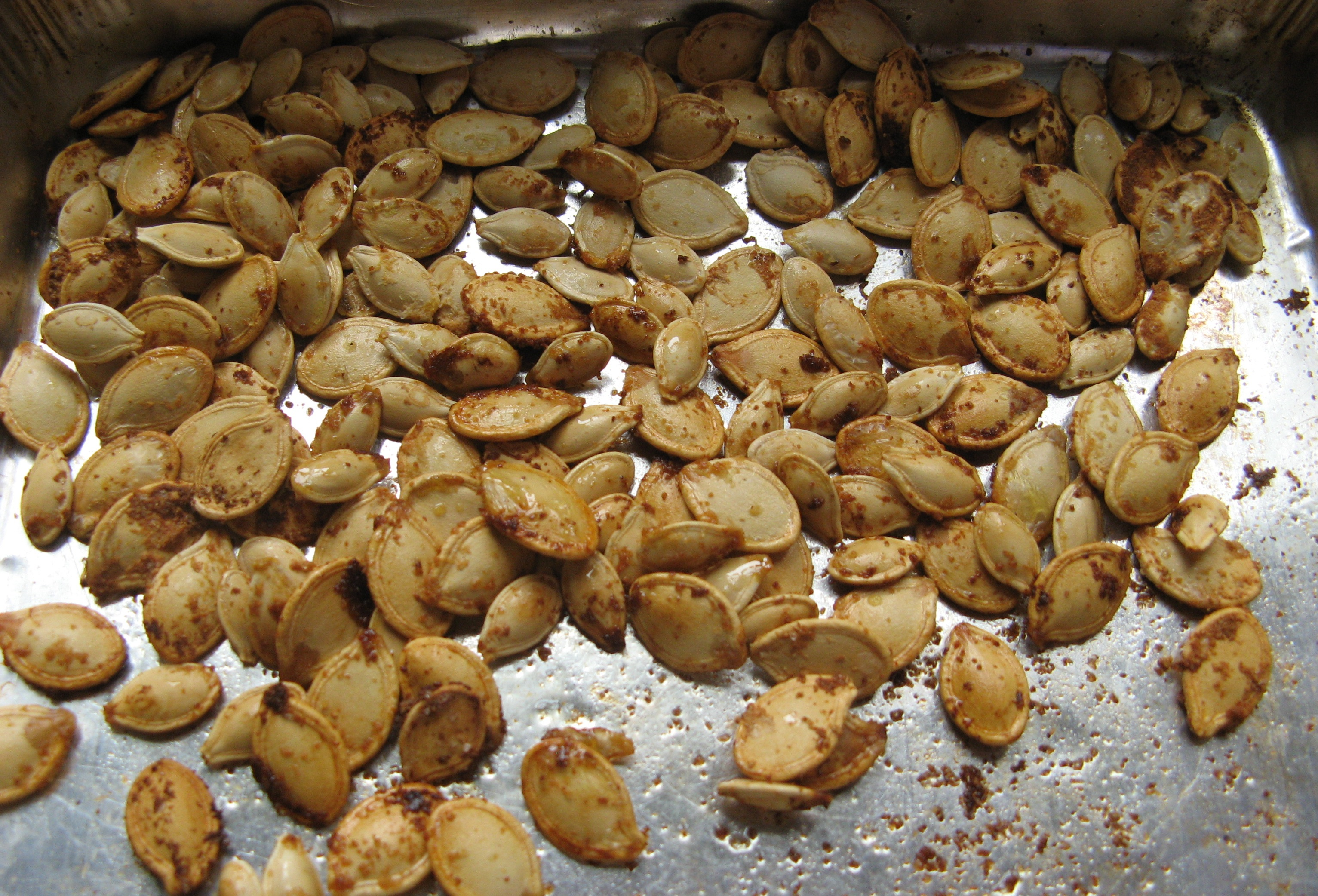 Toasted pumpkin seeds | V 8 Mile