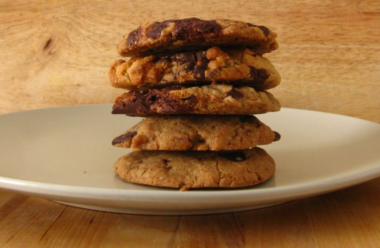 A tempting stack of Tasty Bakery's cookies. Vegan and gf on the bottom; just gluten-free on the top.