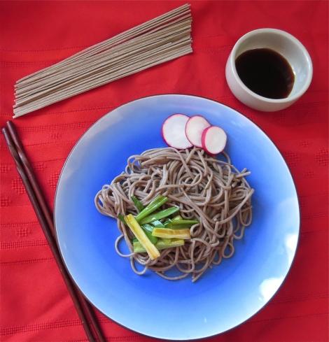 Eden's buckwheat noodles.