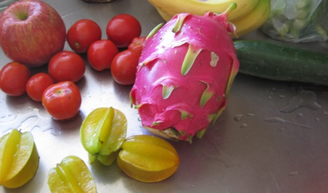 Giant dragonfruit, purchased in Honolulu. Image: moi.