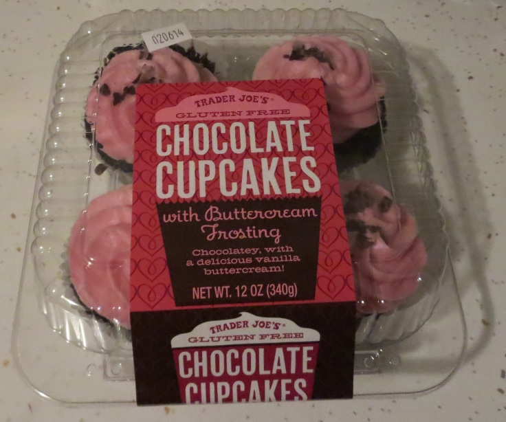 Trader Joe's gluten-free cupcakes.