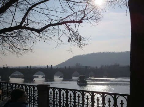 The Charles Bridge.