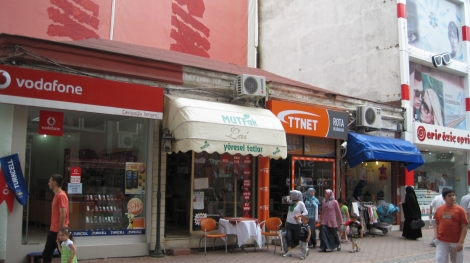 """My favorite restaurant in the small town of Ünye, Turkey. I knew it only as """"Serap's place."""""""
