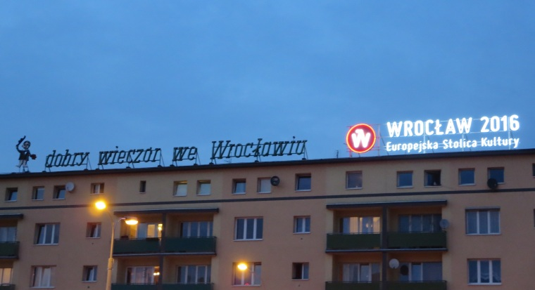 Two signs from Wrocław.