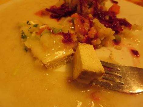 Tofu up close.