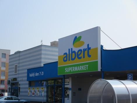 Albert store, Czech Republic.