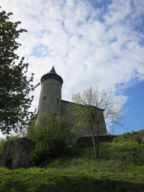 The castle (hrad) Kunětické hoře.