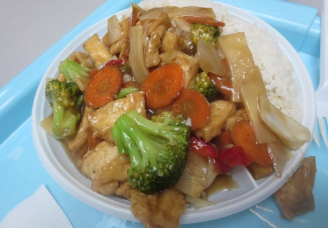 More Chinese food, this time from the place in Futurm.