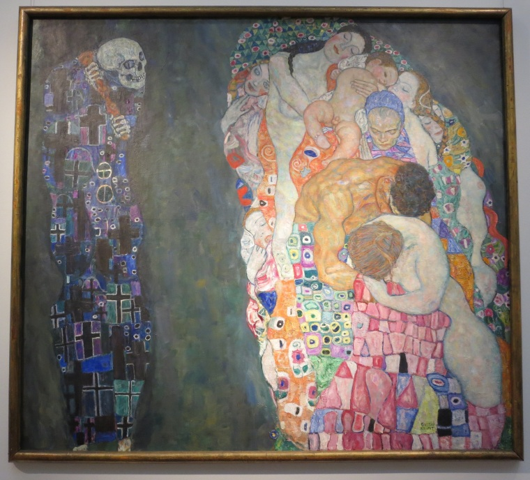 "Gustav Klimt's ""Death and Life."""