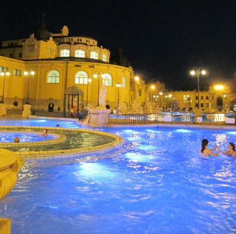 The Szechenyi Baths.