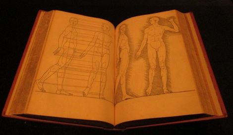 Anatomy book by Albrecht Dürer, 1528.