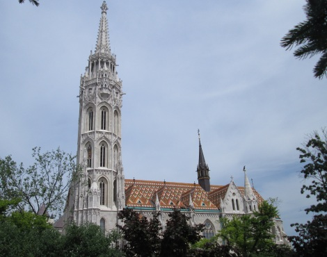 Matthias Church in Budapest.