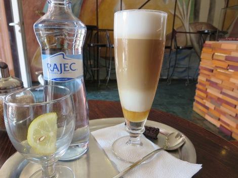 Honey latte.
