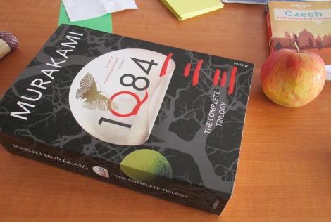 Murakami's 1Q84— just as lengthy at Martin's, actually.