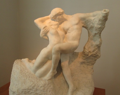Eternal springtime, by Auguste Rodin.