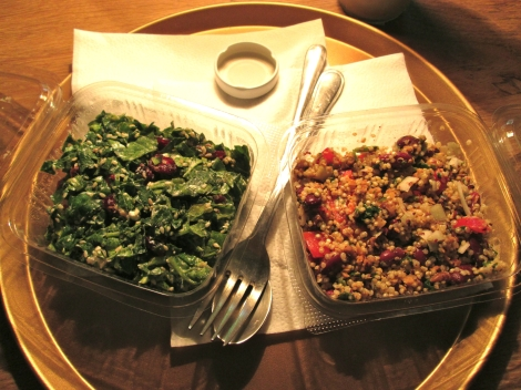 Salads from Jazzy Yoga.