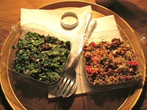 Salads from Jazzy Yoga.