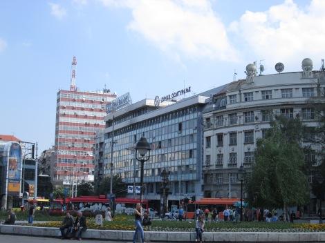 Street from Belgrade.
