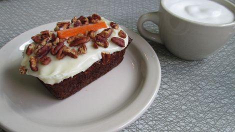 Magical, delicious carrot cake.