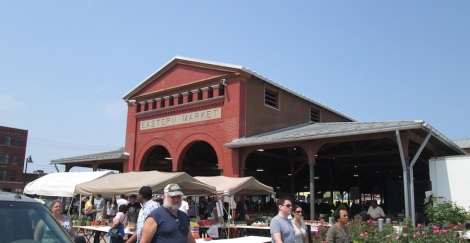 The sheds of Eastern Market.