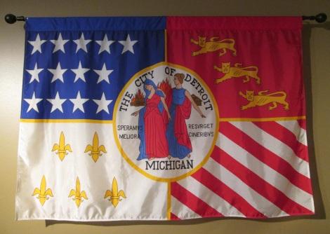 Detroit's city flag.