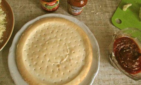Schar's pizza crust.