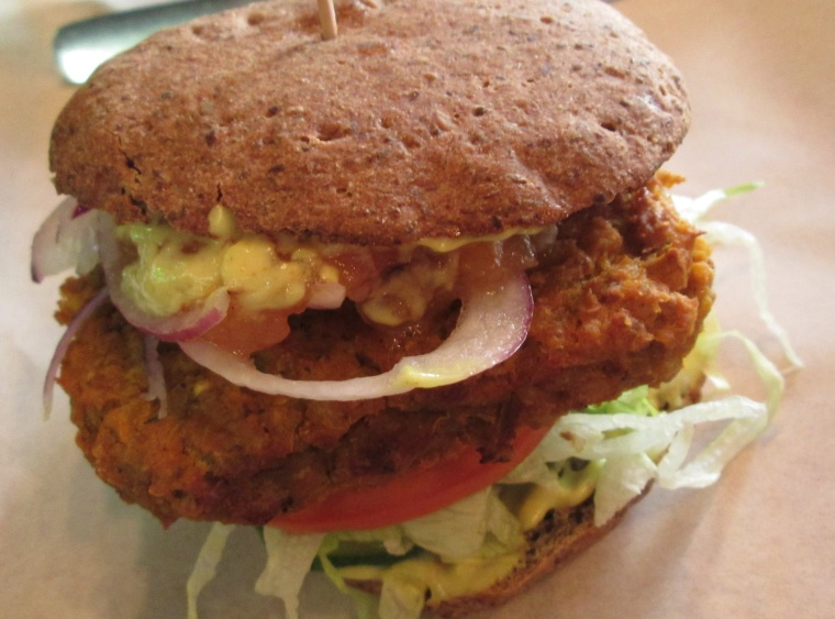 Boon Burger's Buddha burger.