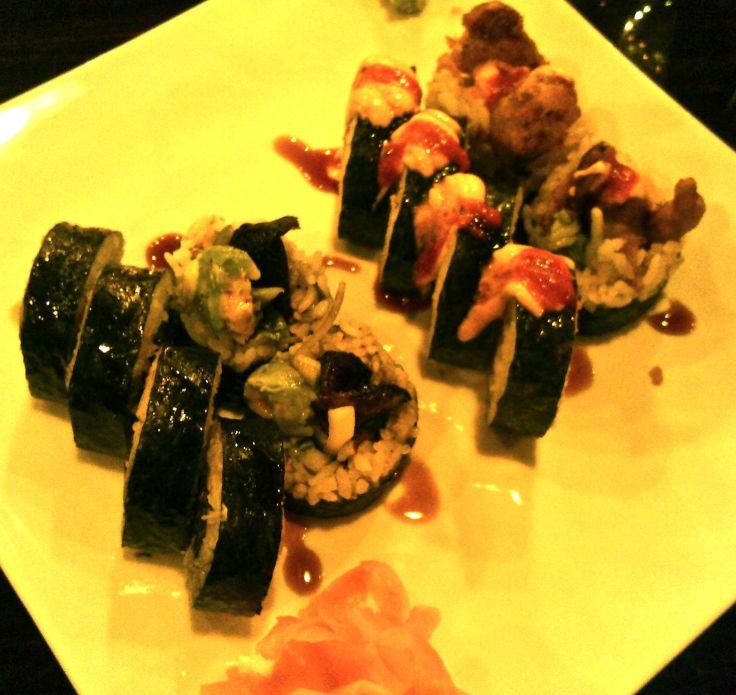Vegan sushi at the Loving Vegan in Albuquerque.