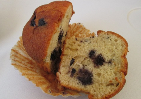All But Gluten's blueberry muffin.