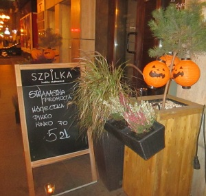 Bar in Rynek.