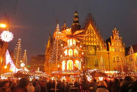 The Christmas Market in Rynek.