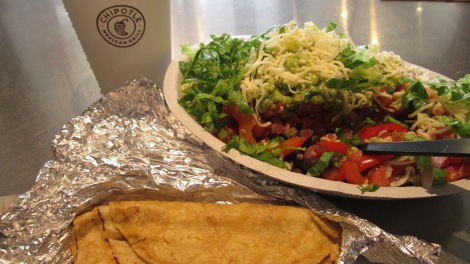 Chipotle: not health food.
