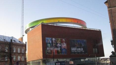 The Rainbow Walk in ARoS in Aarhus.