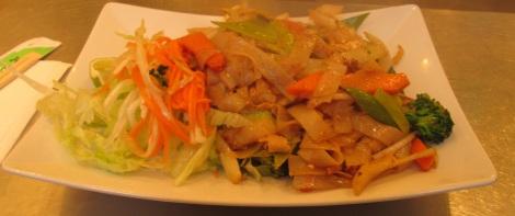 Food at Thai Asien Take Away.