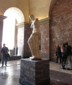 The Venus de Milo, which is very hard to get a good photo of.