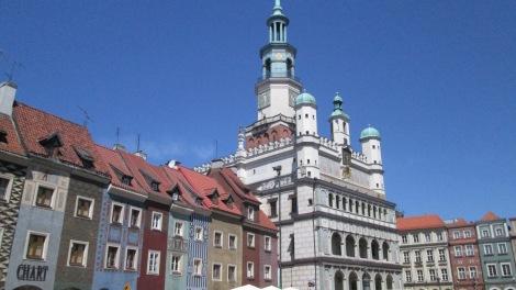 Poznań's Old Town.