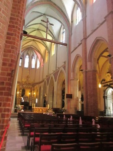 Inside the Gniezno Cathedral.