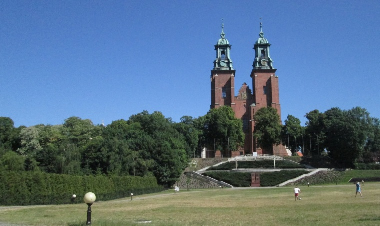 The Cathedral Basilica in Gniezno.