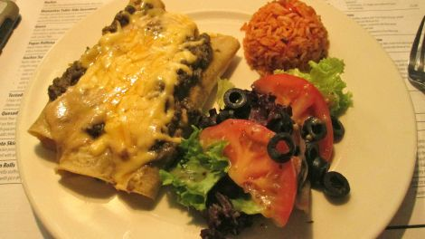 Enchiladas at Mamasitas.