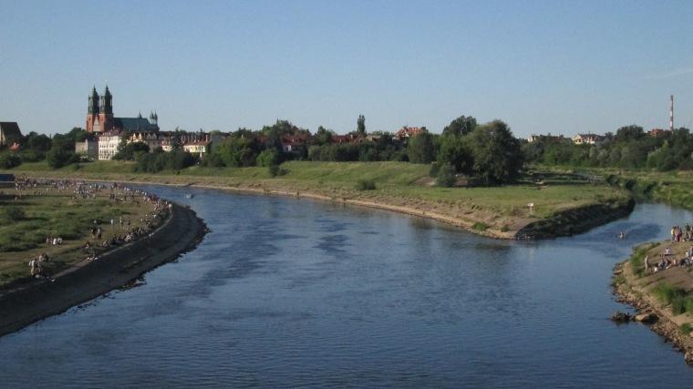 The Warta River.