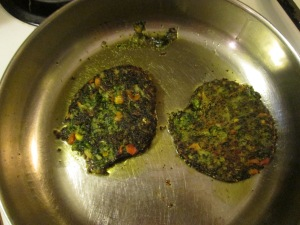 Kale burgers: structurally unsound.