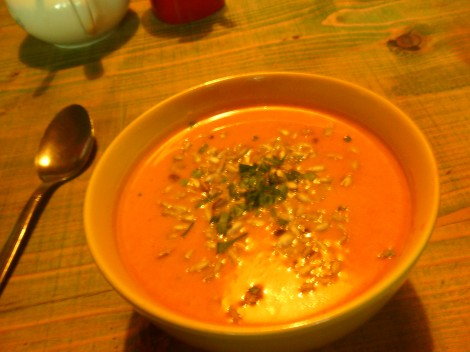 The original soup I had— apologies for the low quality of the photo!