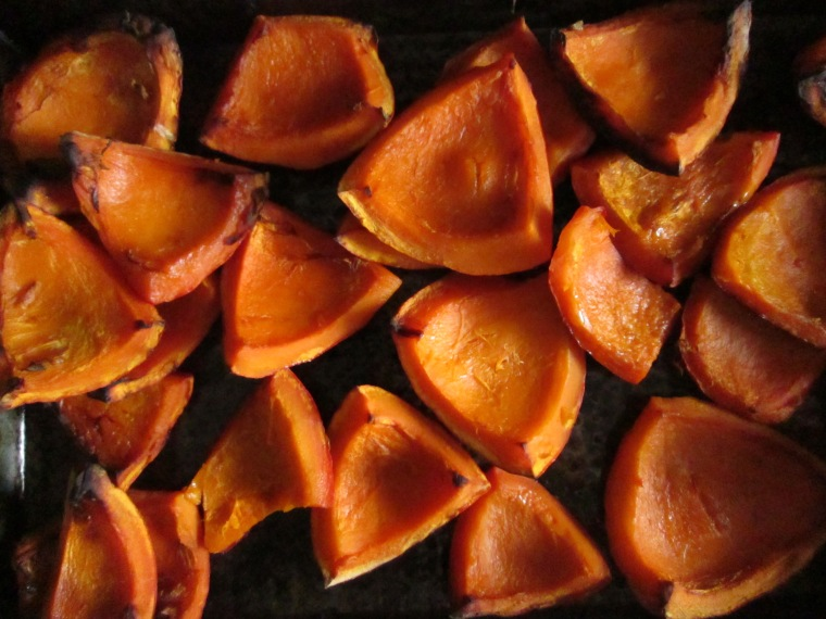 Mmm roasted pumpkin...