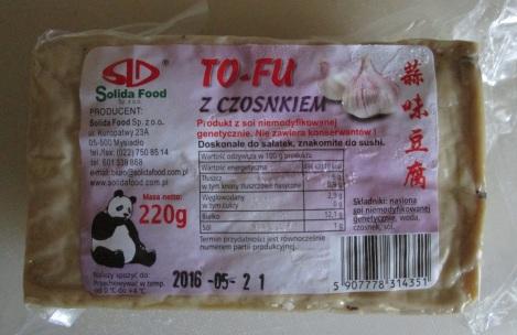 Flavored tofu.